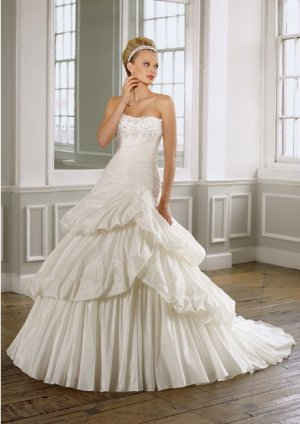 2012 new model strapless bridal mermaid wedding dress EC434