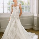 2012 new model one shoulder bridal mermaid wedding dress EC435