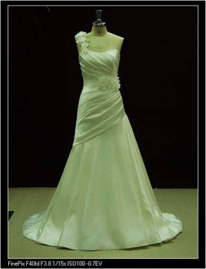 2012 new fashion stylish real wedding dress EC442
