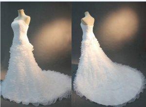 2013 new fashion stylish real swarovski wedding dress EC461