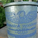 Vintage FENWICK wOODSTREAM  Minnow Floating Bucket
