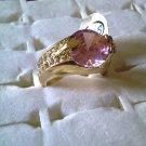 Pink Rhinestone Ring!