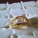 Beautiful Clear Rhinestone Ring!!
