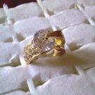 Pretty Clear Rhinestone Ring!