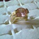 Large Pink Rhinestone Ring!