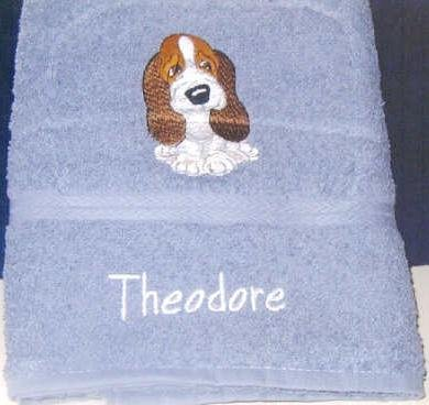 Custom Personalized Embroidered Kids Towels