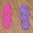 Choice of Embroidered Lace Year of Bookmarks