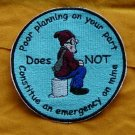 Custom 4 inch Embroidered Patch