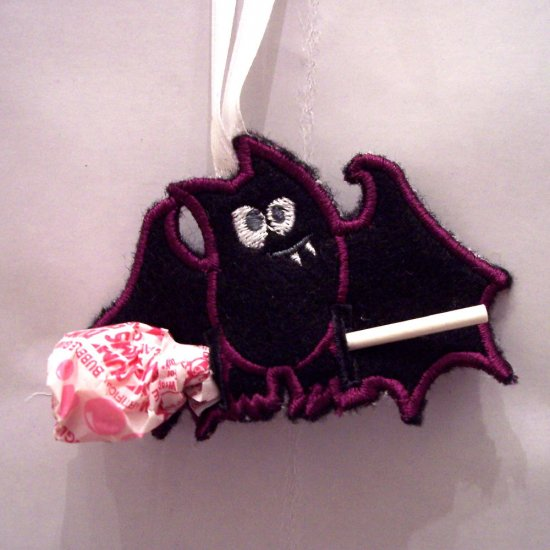 Halloween Bat Dummy Holder
