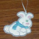 White Rabbit Candy Cane Huggers