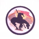 End of the Trail - 3 Inch Embroidered Iron On Patch