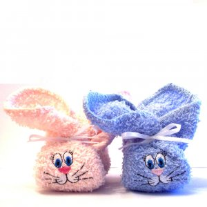 Embroidered Boo Boo Bunnys