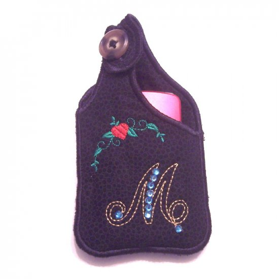 Personalized Embroidered Cell Phone case