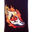Flaming Ace Bottle Koozie
