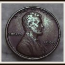 1909 VDB 1C BN Lincoln Cent (VF)