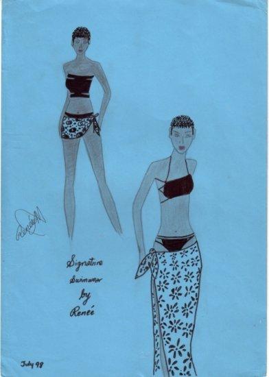 Signature Swimwear Fashion Art
