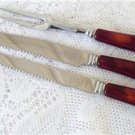 Vintage Bakelite Serving/Carving  Knives/Fork GloHill