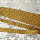 Vintage Golden Silk Tie Polish Komitet Olimpjski