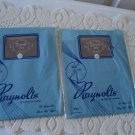 Vintage 2 Pairs Nylon Stockings Seamless 10 ½ Raynolts