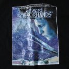 Black Edward Scissorshand Blue Snowy TShirt Large Cool
