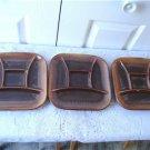 Vintage 3 Fondue/Sushi Plates Beauceware Trudeau 105-34