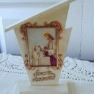Vintage Catholic First Communion Souvenir Image Display