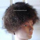 Vintage Raccoon Women Hat Luna 21 1/2 Small