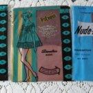 Vintage 3 pairs Micro Mesh Stockings Nylons 9 Patricia