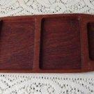 Vintage Teak Wood Tray Denmark Dansk Era