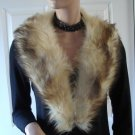 Vintage Gorgeous Genuine Fur Collar 60s