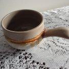 Vintage Laurentian Pottery Tundra Onion Soup Dish 70s