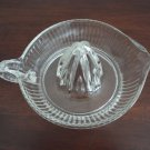 Vintage clear glass reamer 50's