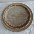Vintage Tundra Laurentian Art Pottery Dinner Plate 70s