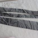 Vintage polyester blend grey abstract design Necktie Gucci