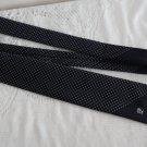 Vintage Navy Polyester Necktie Pierre Cardin
