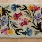 Vintage Hand Hooked Wool Rug Wall/Floor 60's