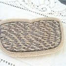 Vintage Scallopped Fully  Beaded Small Evening Purse Japan