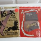 Vintage 2 Pairs Nylon Stockings Seamless Mesh 8 1/2-30  Monaco/Vanity NOS