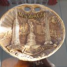 Vintage Souvenir Wall Plaque New York 60's by Arrow