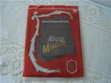 Vintage 1 Pair Nylon Stockings Seamless 10½  Monaco NOS