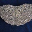 Vintage Gorgeous Faux Pearls Creamy White Clutch Evening Purse Bridal 60s
