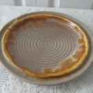 Vintage Dinner Plate Tundra Laurentian Art Pottery 70's