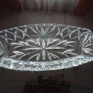Vintage Clear Glass Oblong Celery Dish EAPG