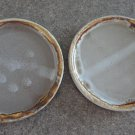 Vintage Laurentian Pottery Tundra 2 Bread Plates