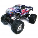 Redcat GroundPounder Electric Monster Truck (Amsoil Body)(GROUNDPOUNDER-GUNMETAL-AMSOIL-BODY)