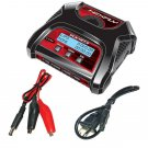 Redcat Hexfly HX-403 Dual Port 2S, 3S, 4S AC/DC LiPo LiFe Battery Charger (HX-403)