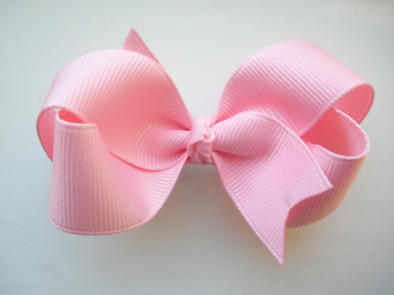 Light Pink Hair Bow