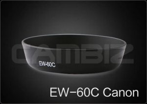 Canon Lens Hood EW-60C [3rd Party Replacement]