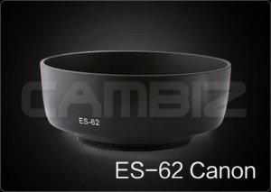 Canon Lens Hood ES-62 EF 50m f/1.8 [3rd Party Replacement]