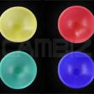 Universal Camera Flash Diffuser Dome (Yellow, Red, Green, Blue)